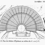 images extraites de Théâtre et société dans la Grèce Antique, Jean-Charles Moretti, Le livre de poche, 2001
