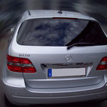 Mercedes B 170 mit Charcoal 13