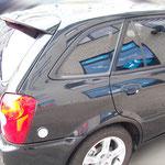 Mazda 323F mit Charcoal 13