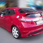Honda Civic mit Supreme HP4