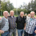 4 Meister aus 1985/86: Franz-Josef Loch, Wolfgang Roßfeld, Reiner Lorenz und Markus Kunrath (Trainer der Meisterelf)