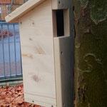 Seitenansicht Baumläuferhöhle - Foto:Britta Raabe
