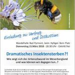 PM RGS WB: NABU Bad Pyrmont: Vortrag zum Insektensterben / Aushang