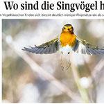 Wo sind die Singvögel hin -SZ, Dezember 2016-