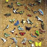 Pins und Anstecker in großer Auswahl - Foto. Britta Raabe