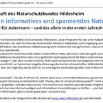 Regionalgeschäftsstelle Weserbergland - NABU Hildesheim Neujahrsempfang