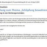 PM - RGS WB - Ausstellung Hautflügler / Schöpfung bewahren