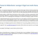 PM: NABU RGS Weserbergland