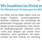 OWEA Magazin / Bad Münder - Autor: Sylke Hermann