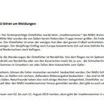 PM - RGS WB - Distelfalter auf Deutschlandtour