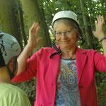 """NABU Sommerfest 2016 - """"...gleich geht´s in die Wipfel!"""" - Foto Britta Raabe"""