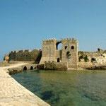 Grèce, forteresse de Méthonie