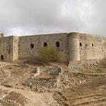 Grèce, château de Clermont-Chlémoutsi