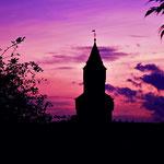 Idsteiner Hexenturm bei Sonnenuntergang