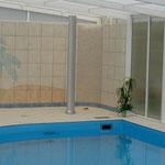 Duschbereich mit Kleinmosaik