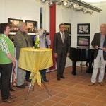 """""""Ausstellungseröffnung"""" - von Lisa Langer"""