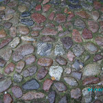 Altes Pflaster hinter der Marienkirche Lübeck