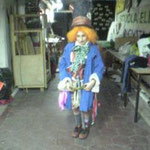Mad Hatter in the School basement