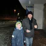 Pappa Mario mit Sohnemann Paul