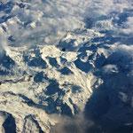 den Schnee lassen wir mal noch da wo er hingehört, in den Alpen
