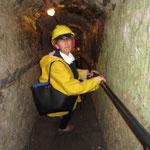 wieder ab in die Tiefe denn 32 Meter tief und auf einer Fläche von nahezu  3km² spannt sich unterhalb der Stadt Meding