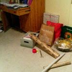 ich frage mich wo der Weihnachtskerl mein Geschenk versteckt hat
