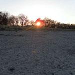 Sonnenuntergang vom Strand und von...