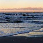 Sonnenuntergang auf der sonnenreichsten Insel Deutschlands