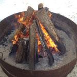das Feuer auch