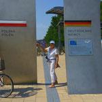 an die Deutsch - Polnische Grenze... in Swinemünde starteten wir dann in Richtung Danzig, Tag für Tag einen Hafen weiter