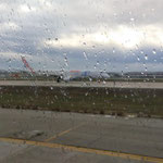 Abflug bei Regen ;-)))))