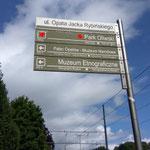 Eingang in den Park zu Oliwa