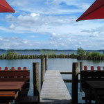 der Blick über den See ist nicht die Ostsee oder die Nordsee aber ebenso schön