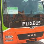 Abfahrt nach Ahlbeck am  internationaler Kindertag... 01.06. zum erstenmal mit dem Flixbus. Da ich kurzfristig gebucht habe hatte ich einen vergoldeten Fahrschein 20,00 € Die anderen Fahrgäste waren mit 6,00-9,00 € dabei. Ich wollte schon immer mehr,lach