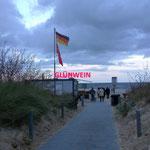 in Ahlbeck dann später die Glühweinsaison eröffnet