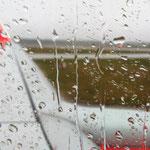 Regen...Koffer packen