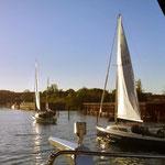 Bootstour auf dem Schweriner See