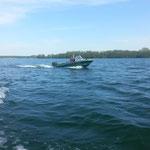 Angelmietboot 15 PS vom Bootsverleih Seehof