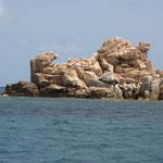 Bizzarre Steinformen