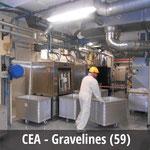 CEA de Gravelines - Blanchisserie