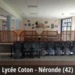 Cuisine Lycée Coton - Néronde