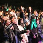 Ersklassige Livemusik mit begeistertem Publikum