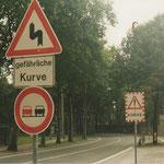 Hier stehen heute rechts Ostermann und die Westfalen-Tankstelle! Ein Bild aus 1998.