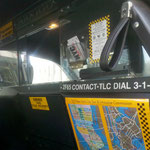 NYC Taxi Innenraum