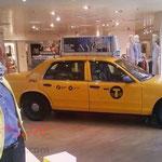NYC Taxi als Deko