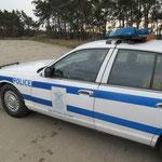 amerikanische Polizei Requisiten