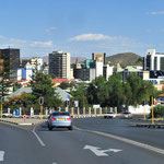 In Windhoek selbst ist wenig geblieben vom Baustil der Kolonialzeit...