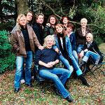 Herbstlich: KARAT und die MEDLZ in Michas wildem Garten.