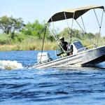 Auch auf dem Wasser sind die Ranger aktiv, und die Einladung, mehr über ihre Arbeit zu erfahren....