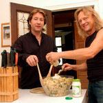 2005 leben Claudius Dreilich und Bassist Christian Liebig in einer Berliner WG.